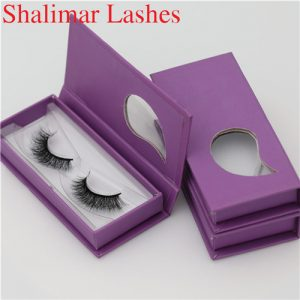 3D Invisible Band Eyelashes Package Manufacturer