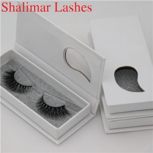 Customized 3D Invisible Band Mink Lashes Private Label