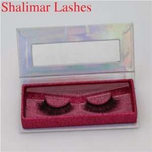 Hot Fashionable Colored Private Label 3D Mink Eyelashes Manufacturer