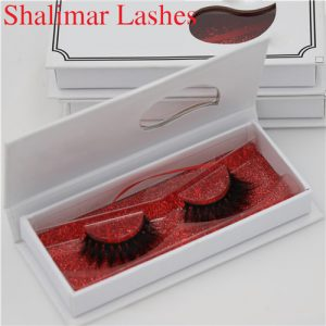 Customized Gorgeous Mink Fake Eyelashes Wholesale With Private Label Boxes