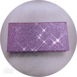 custom eyelash glitter package BOX