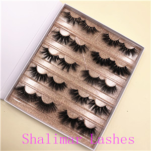 Eyelash Vendors  25mm mink lashes