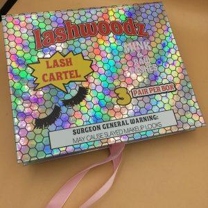 Lash WOODS Custom Eyelash Packaging Boxes