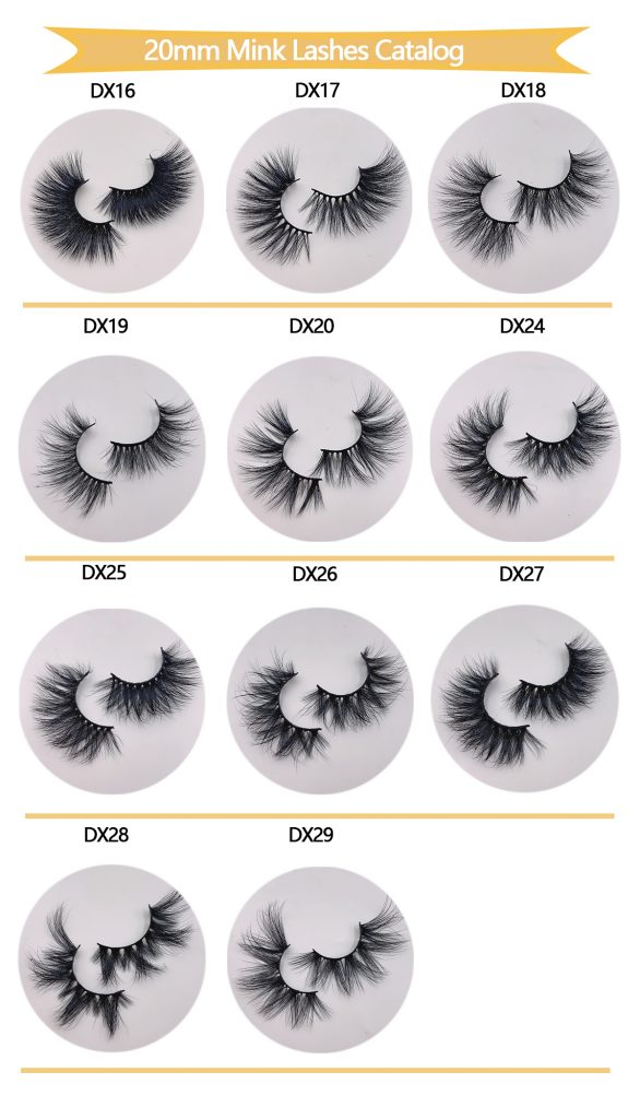 20mm Wholesale Mink Eyelashes vendors
