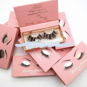 Custom Eyelash Box with Logo