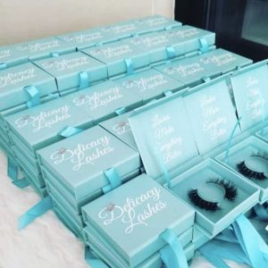 Eyelash Vendors Custom Diamond Lash Boxes