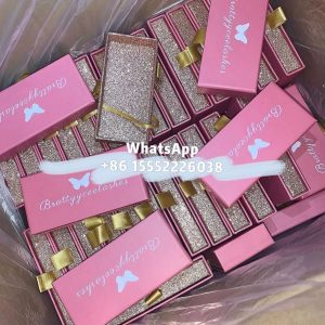 Wholesale Mink Lashes Wholesale Custom Eyelash Packaging Box