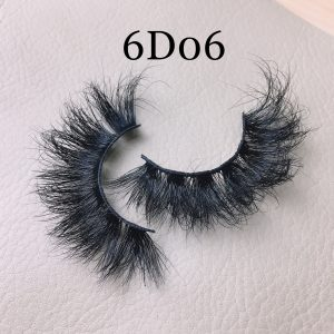 Fluffy 20mm mink lashes 6D06