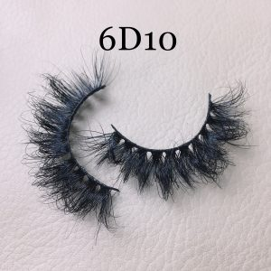Fluffy 20mm mink lashes 6D10
