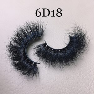 Fluffy 20mm mink lashes 6D18