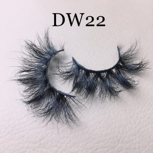 Fluffy 16mm mink lashes DW22