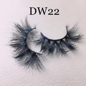 Fluffy 16mm mink lashes DW22