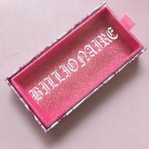 PINK MONEY Custom Drawer Eyelash Packaging