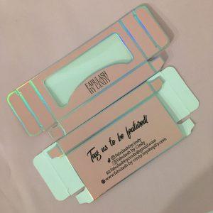 Wholesale Lash Paper box Custom eyelash cardboard Packaging