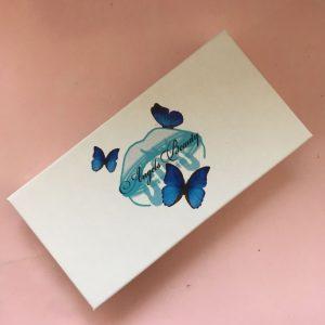 Wholesale Custom White Eyelash Packaging Box