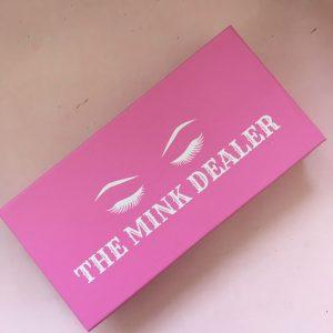 Custom Pink Eyelash Packaging Wholesale