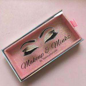 Pink Drawer Eyelash Packaging Wholesale
