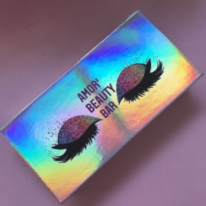 Custom Magnetic holographic Eyelash Packaging