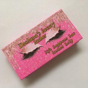 Mink Lahses And Custom Eyelashes Packaging