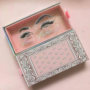 Pink Diy Eyelash Packaging