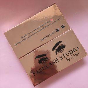 Eyelash Vendors Custom Rose Gold Eyelash Packaging