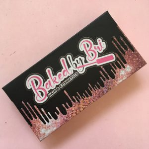 Pink Glitter Dripping Custom Eyelash Packaging