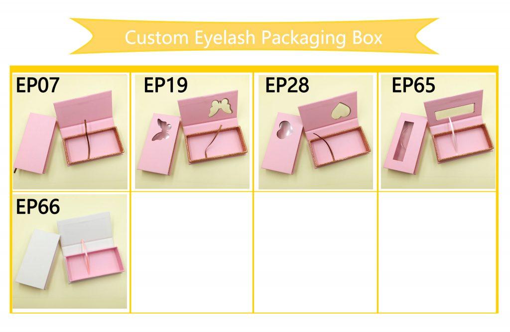 Eyelash Vendors Pretty Custom Eyelash Packaging