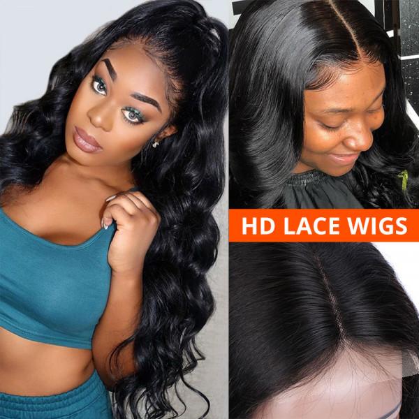 Wiggins Hair Body Wave HD Lace Wigs