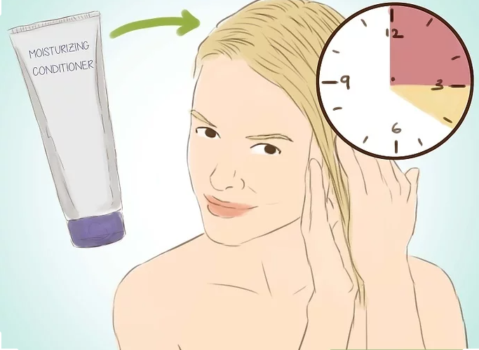 Wash Hair Extensions Step 13