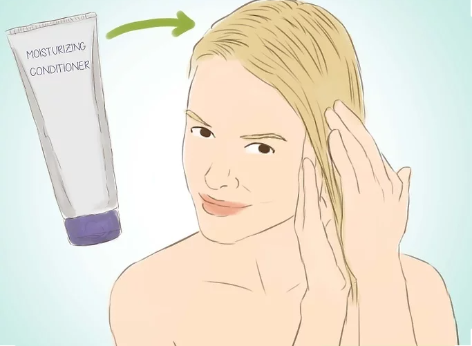 Wash Hair Extensions Step 19