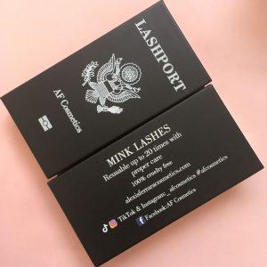 Lashes packaging customize eyelash drawer box