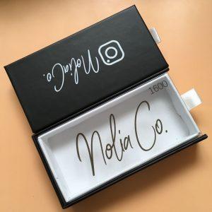 Custom Lash box design