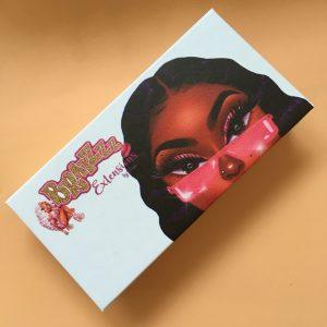 Cartoon Lash Packaging Customize Eyelash boxes