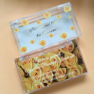 Custom eyelash boxes drawer Packaging with private label