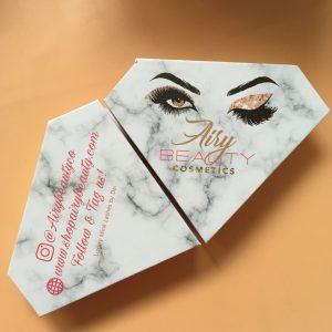 diamond shaped eyelash boxes