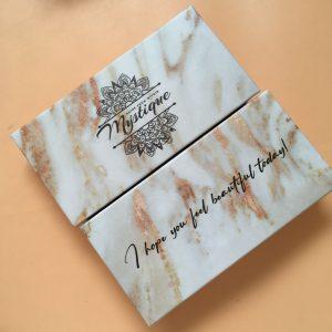 luxury 3d mink Eyelash Vendors Custom Eyelash Packaging