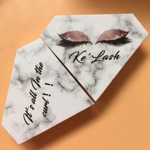empty lash box