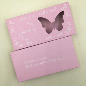 pink lash boxes
