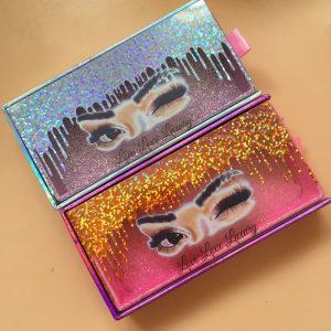 Mink Eyelash Vendors Eyelash Packaging Box