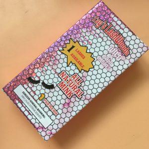 25mm mink lashes wholesale custom lash boxes