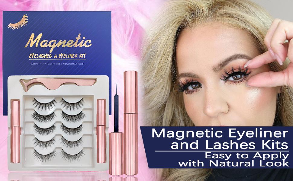 Magnetic Eyeliner and Lashes Kit