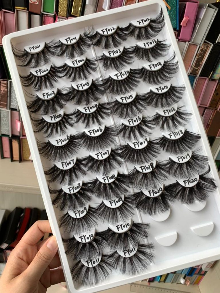 where to find the TOp Seller of the fluffy cheap 25mm Lashes wholesale lash vendor