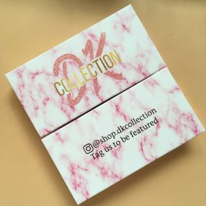 PINK Marble eyelash boxes only