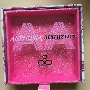 Pink Money Square custom lash box packaging