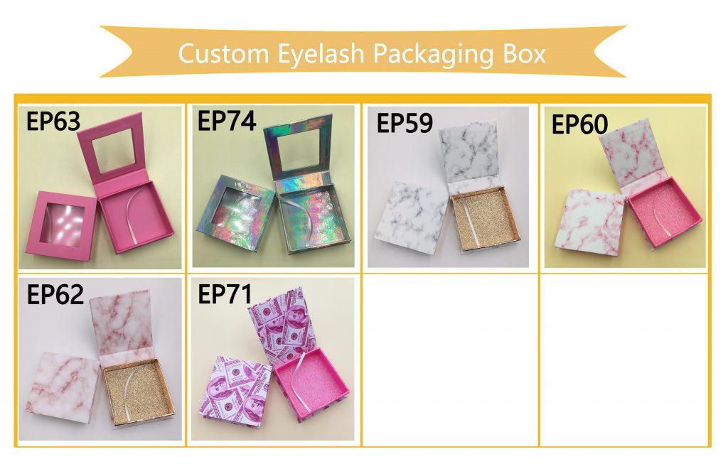 Square Custom Lash Boxes Eyelash Case