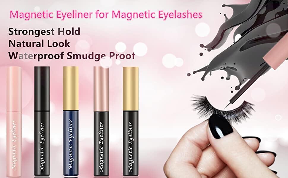 Magnetic Eyeliner For Eyelashes
