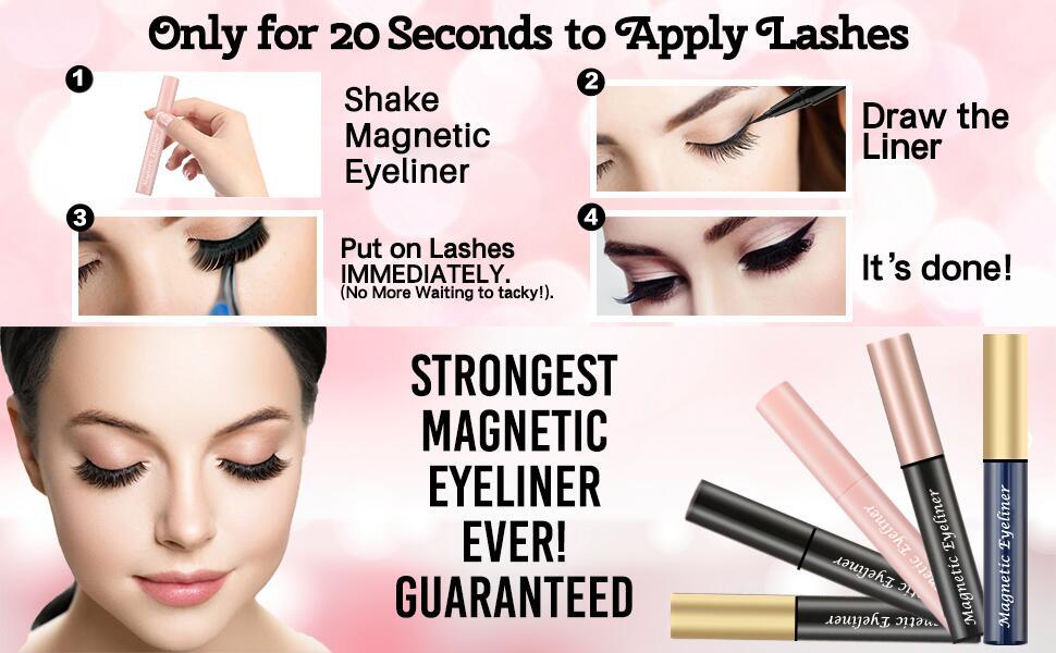 Magnetic Eyelashes Eyeliner